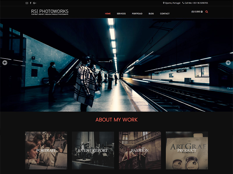 Portfolio Website | WORDPRESS