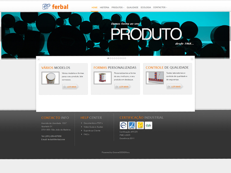 Website Corporativo | JOOMLA 2.5.